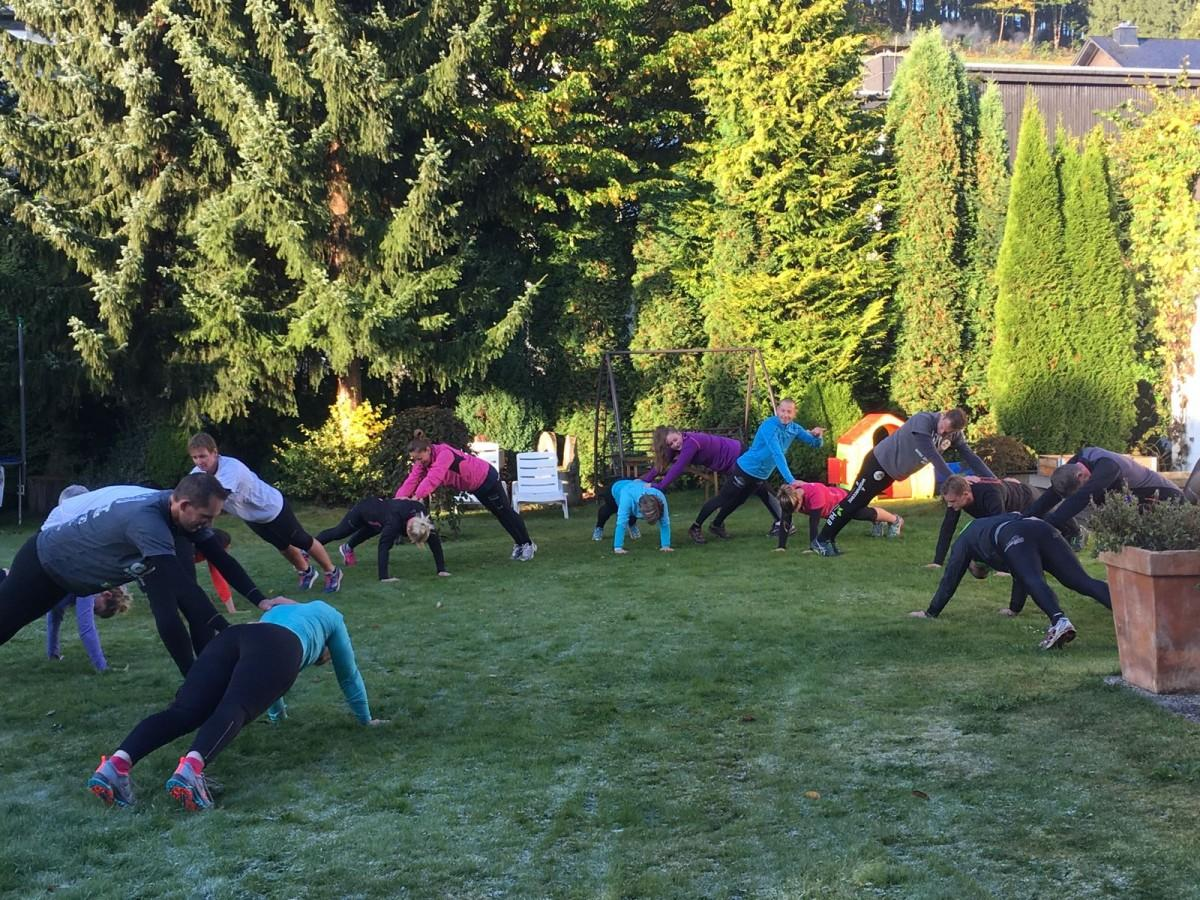 Bootcamp weekend in Winterberg